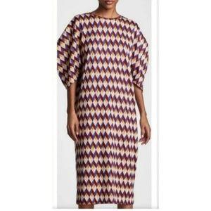 Zara Collection Woman Basic Jacquard Midi Dress